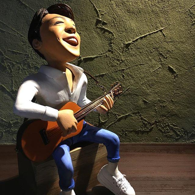 福山雅治さんの人形完成しました。Youtubeの動画も見てやって下さい。https://youtu.be/-HLxN9YzP4o - from Instagram